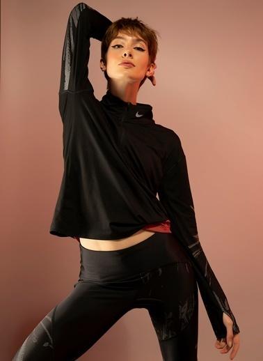 Nike Nike Elemantal Flash Kadın Sweatshirt Siyah
